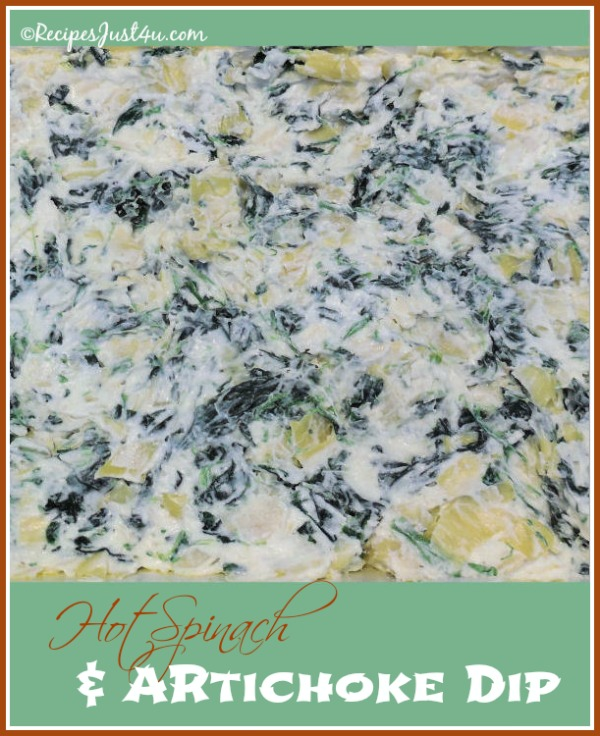 Hot Spinach Artichoke Dip is a crowd pleaser at my parties.