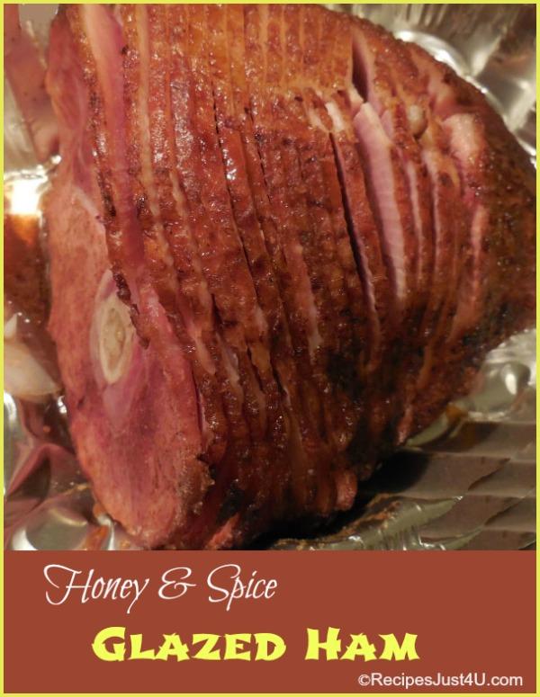 Honey and Spice Glazed Ham