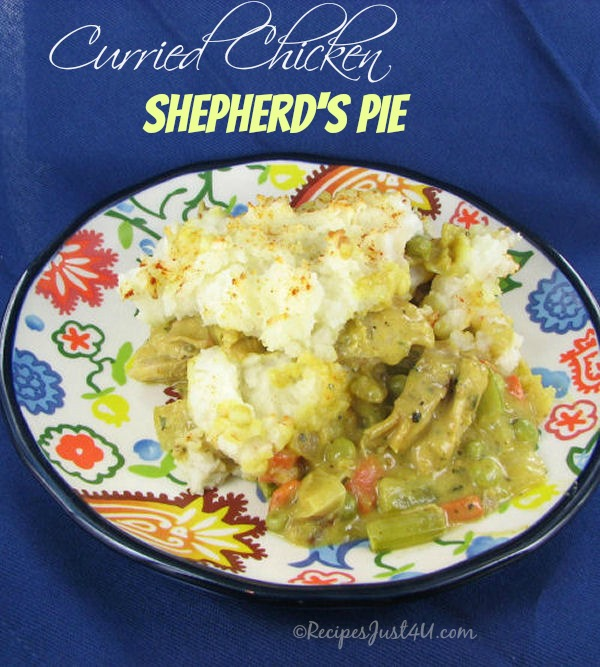 Curried Chicken Shepherd's Pie