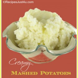 Creamy and Fluffy Mashed Potatoes