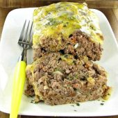 Cheesy Parmesan meat loaf