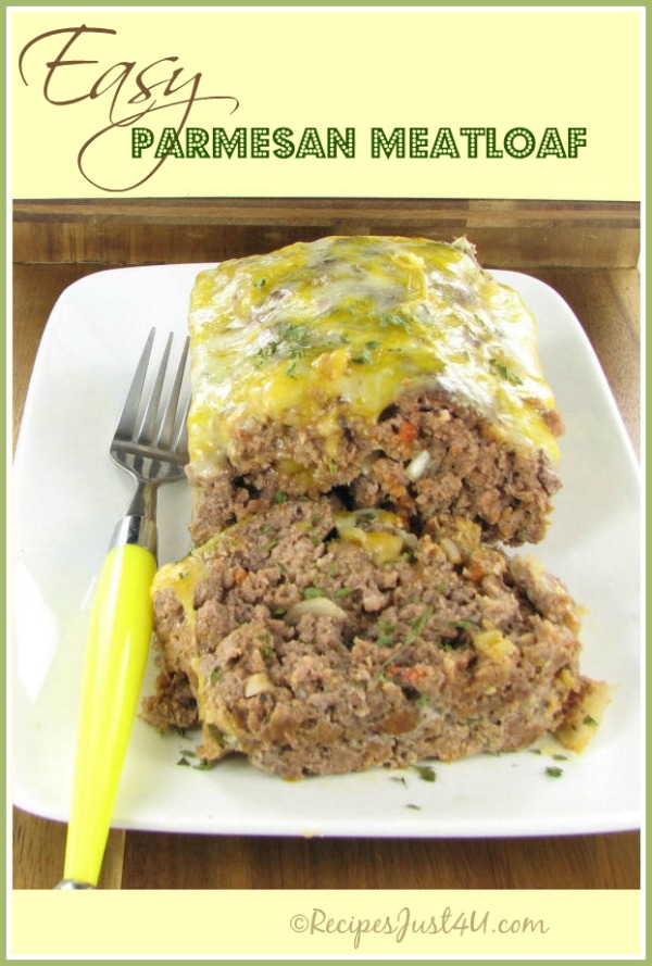 Easy Parmesan Meat loaf recipe