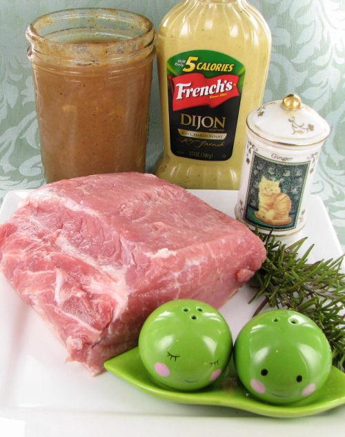 ingredients for roast