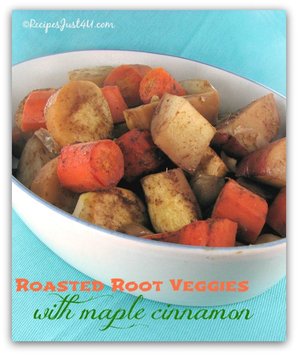Cinnamon Roasted Vegetables Recipe — Dishmaps