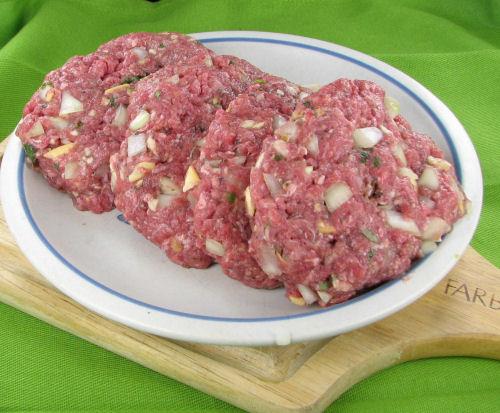Salisbury steak patties.
