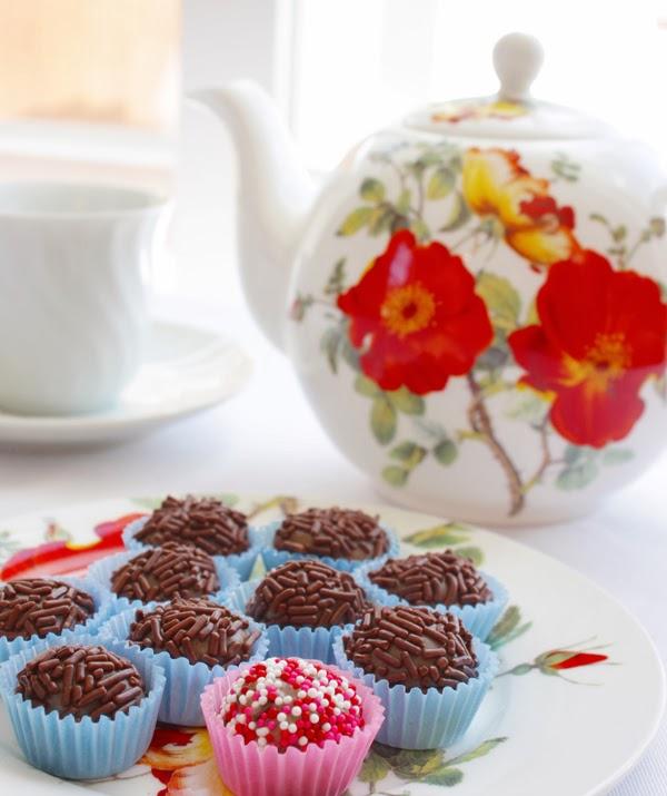 Brazillian chocolate truffles - Brigadeiros