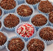 Brazillian sweet - Brigadeiro - truffles made the easy way