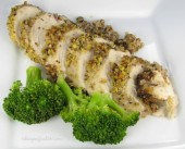 Pecan Crusted Honey Mustard Chicken Breasts