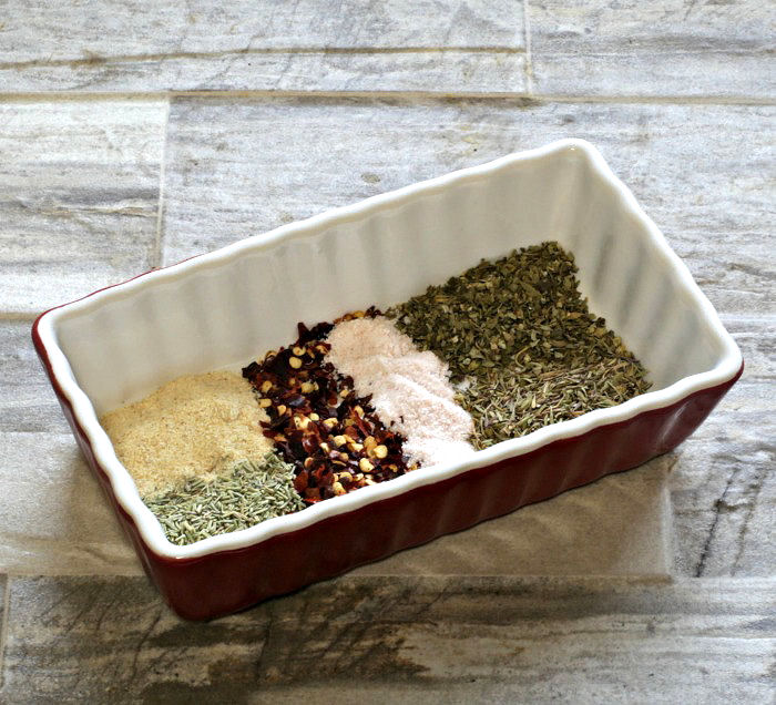 garlic herb spice rub