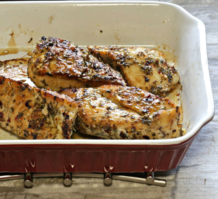 herb crusted chicken recipe