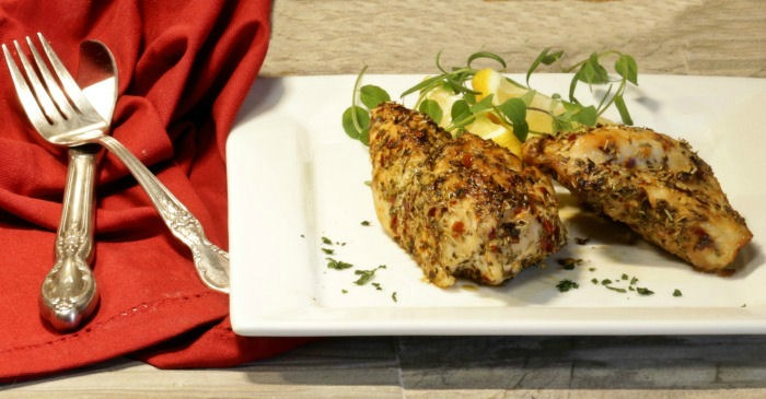 Herb Crusted Chicken Breasts Whole30 Paleo Easy 30