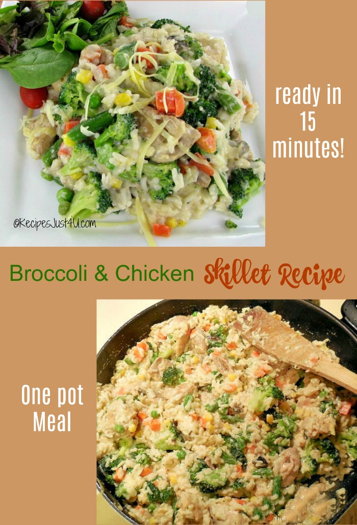 Broccoli Chicken Skillet Recipe