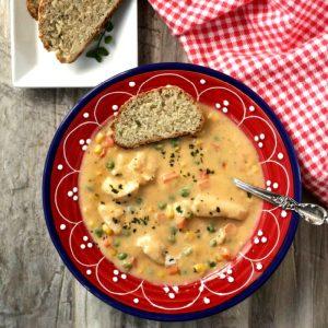 cream of chicken soup pot pie
