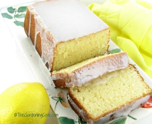 Take a slice of this lemon loaf cake