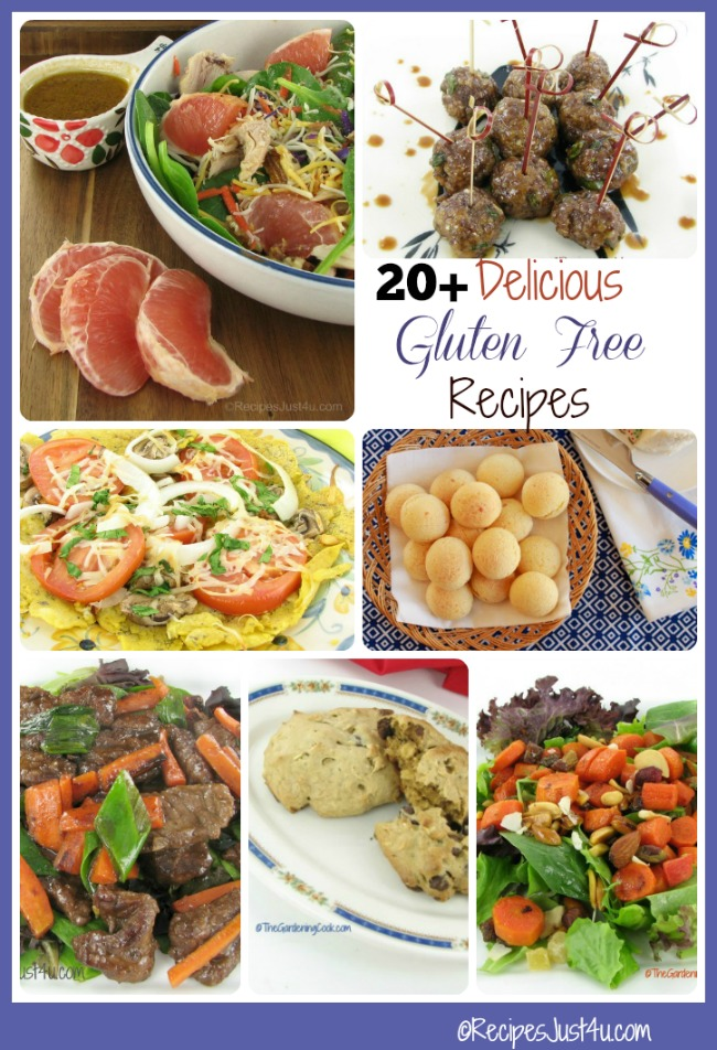 20+ of my Favorite Gluten Free Recipes