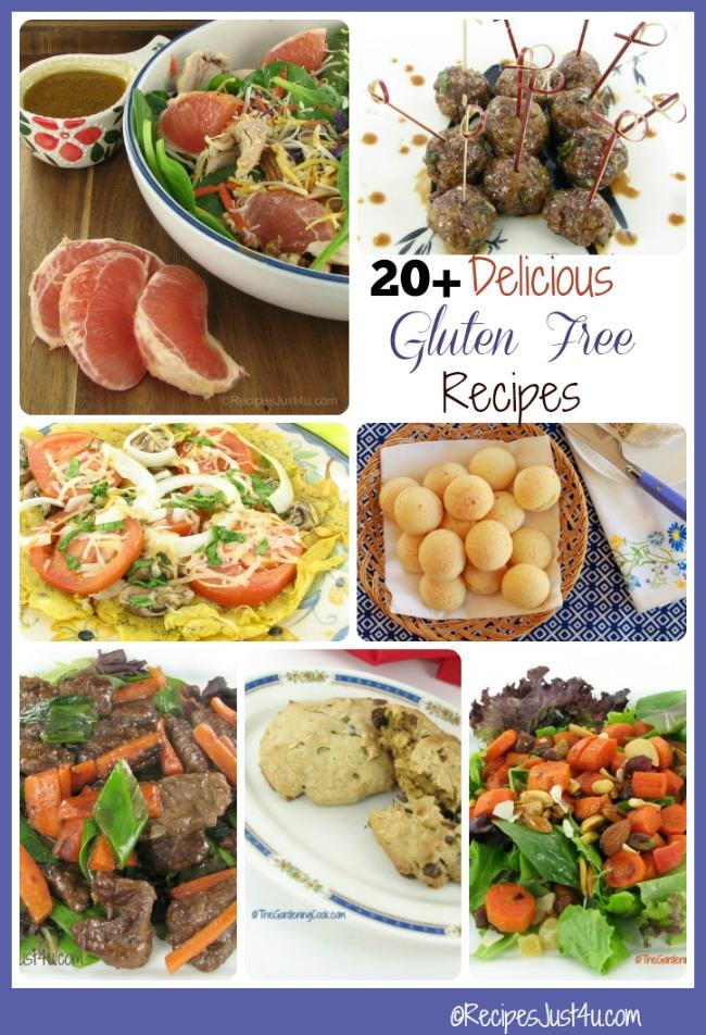 20+ of my Favorite Gluten Free Recipes
