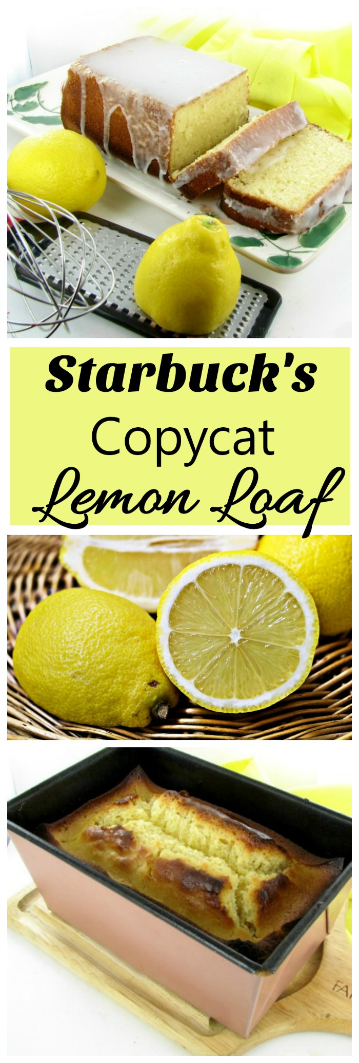This Copycat Starbucks Lemon Loaf is tasty and easy to make. Have your favorite restaurant dessert at home.