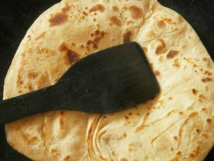 Don't use a spatula on pancakes