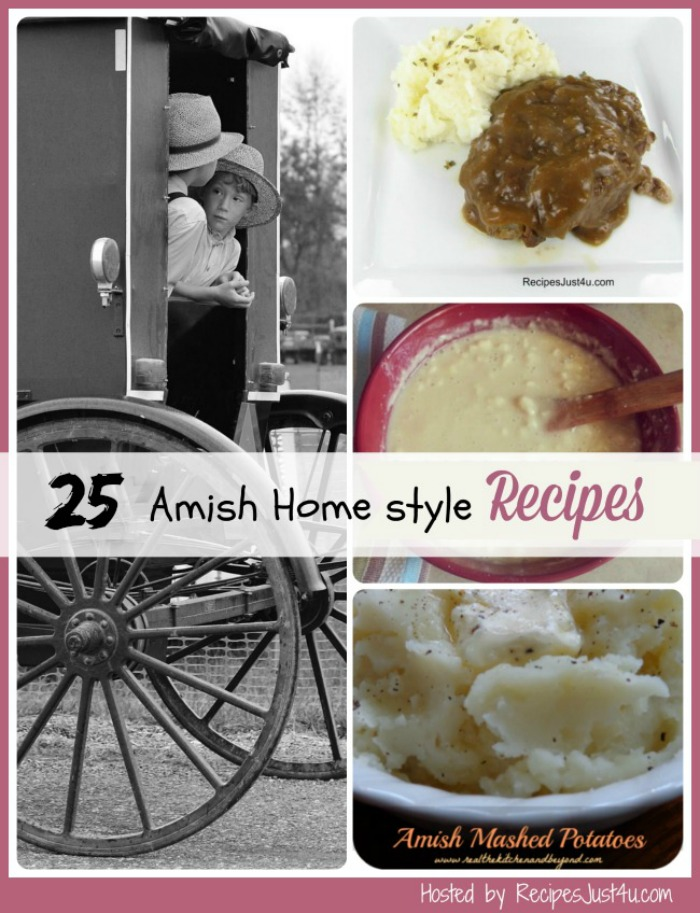 25 of your favorite Amish recipes