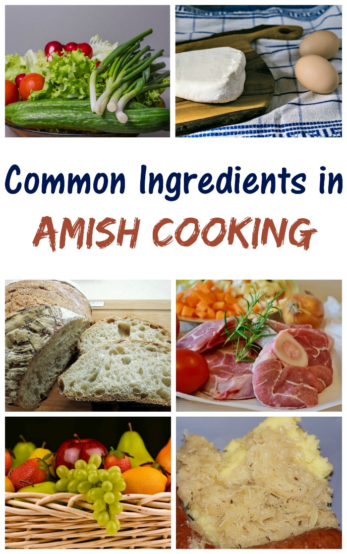 Amish food is simple and hearty