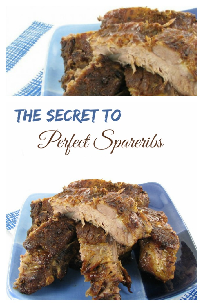 The secret to perfect spareribs is easy. Precooking gives fall off the bones results every time.