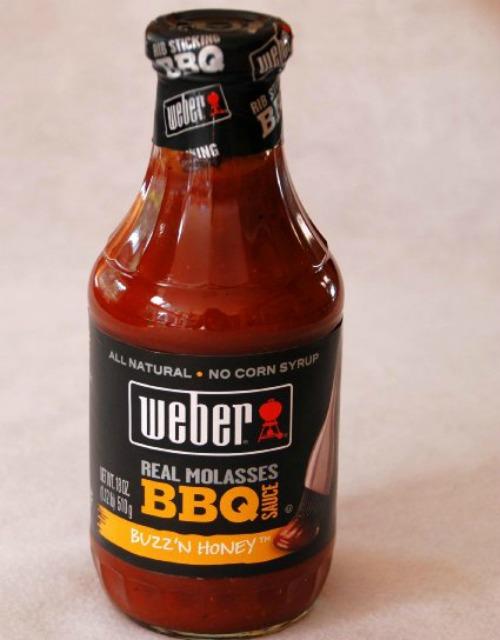 Weber Molasses BBQ sauce