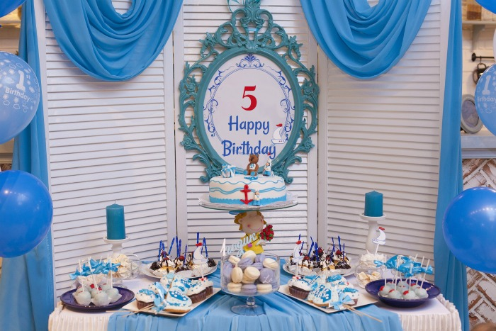 5th birthday party dessert table ideas
