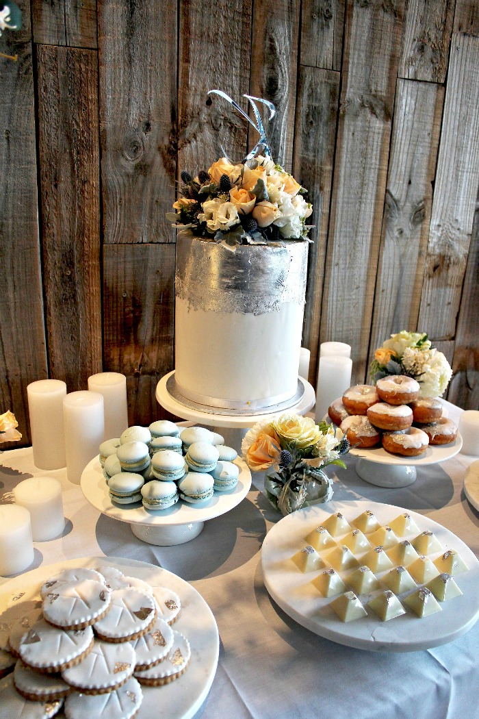 Table of cakes and sweets