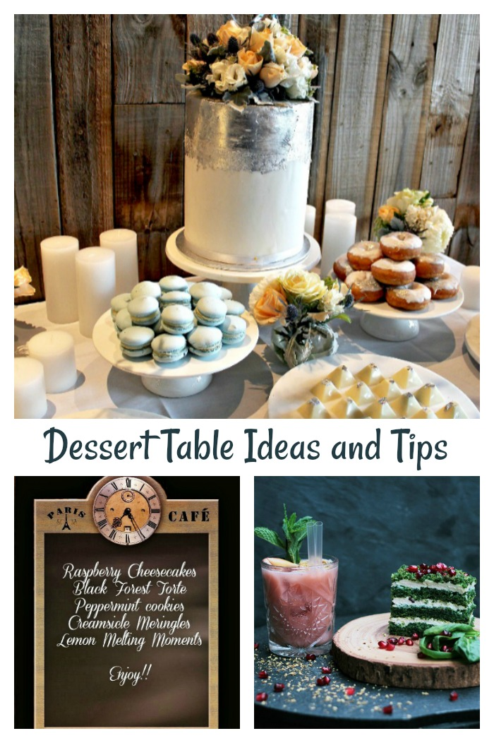 Dessert table ideas and tips