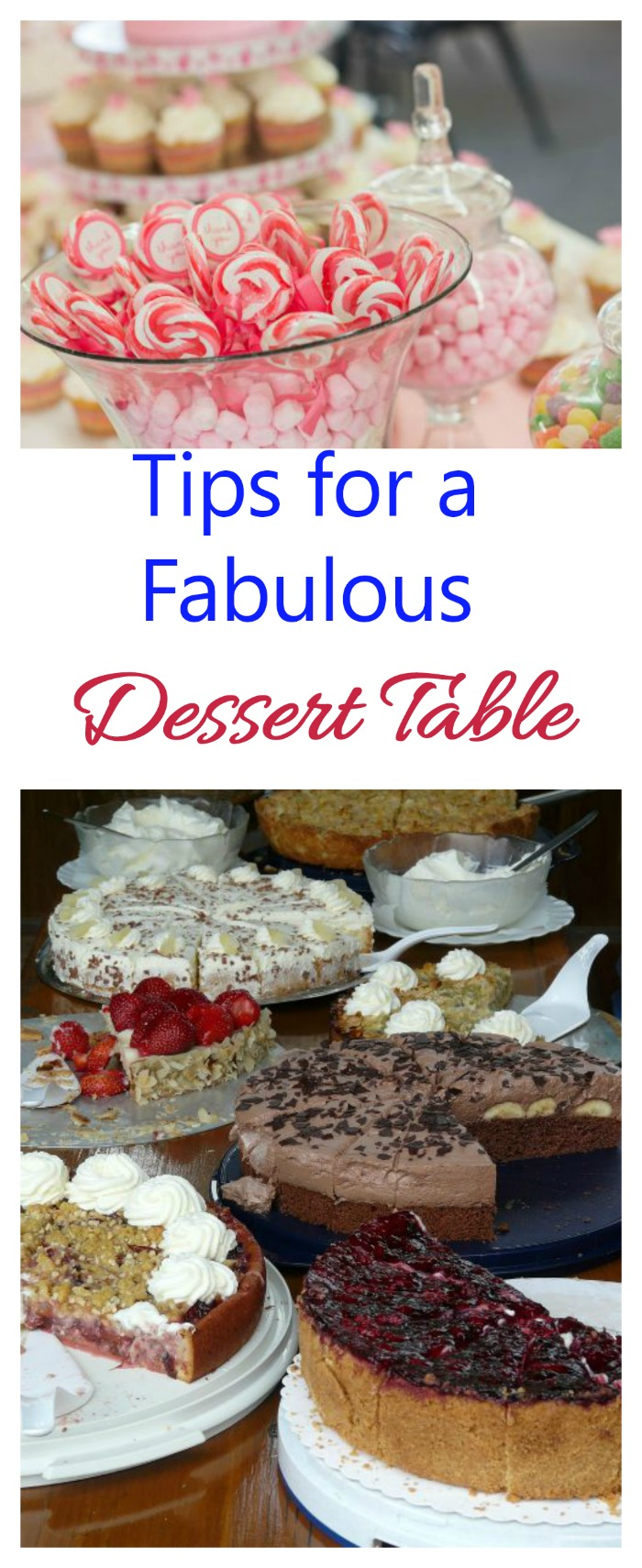 Treats table ideas