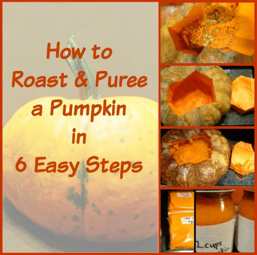 make your own pumpkin puree from realthekitchenandbeyond.com
