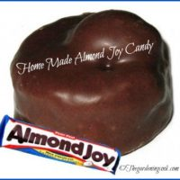 Home Made Almond Joy Candy Recipe