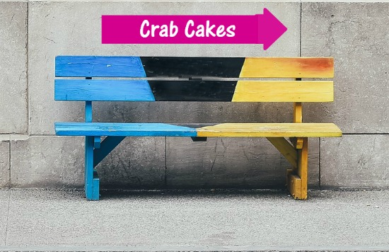 Bench crab cakes