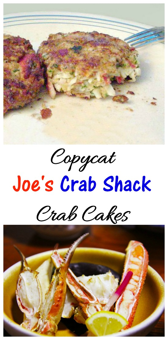 This copycat recipe is a good representation of the Joe's Crab Shack Crab Cakes. They are easy to make and very moist.