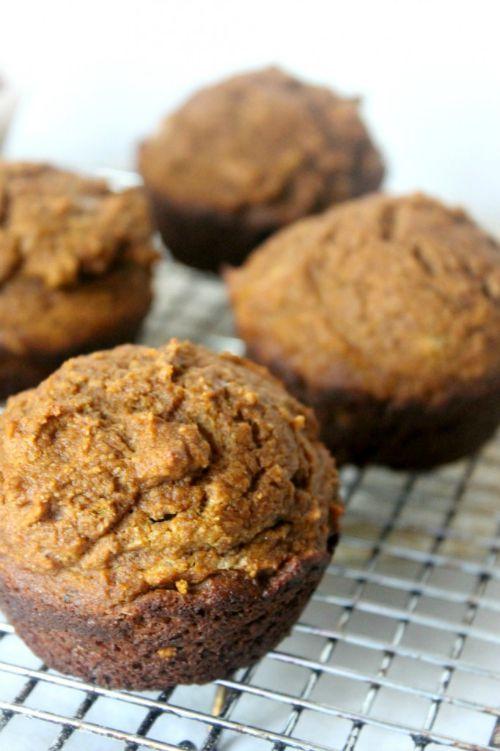 Pumpkin muffins from naturalcchow.com