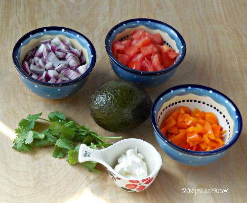 Toppings for wraps