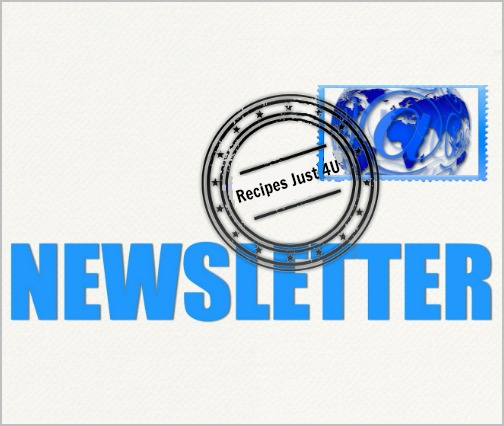 Recipes Just 4U Newsletter