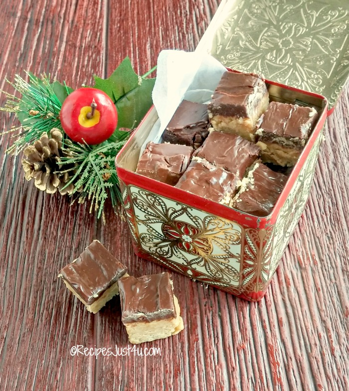 Buckeye fudge is perfect for gift giving. recipesjust4u.com