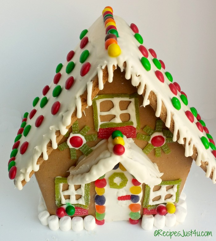 This year's gingerbread project