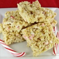 Peppermint Rice Krispie Treat Recipe