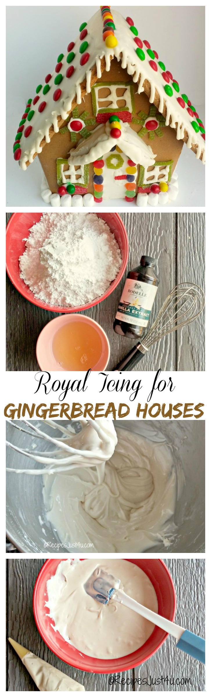 Royal Icing For Gingerbread Houses Recipes Just 4u