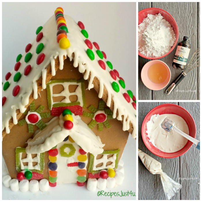 Royal Icing For Gingerbread Houses