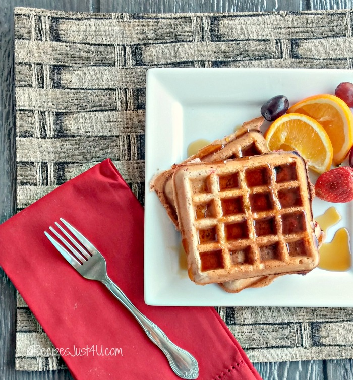These strawberry Belgian waffles make a wonderful choice for a weekend breakfast or brunch. They are light and fluffy with deep craters for the maple syrup. recipesjust4u.com