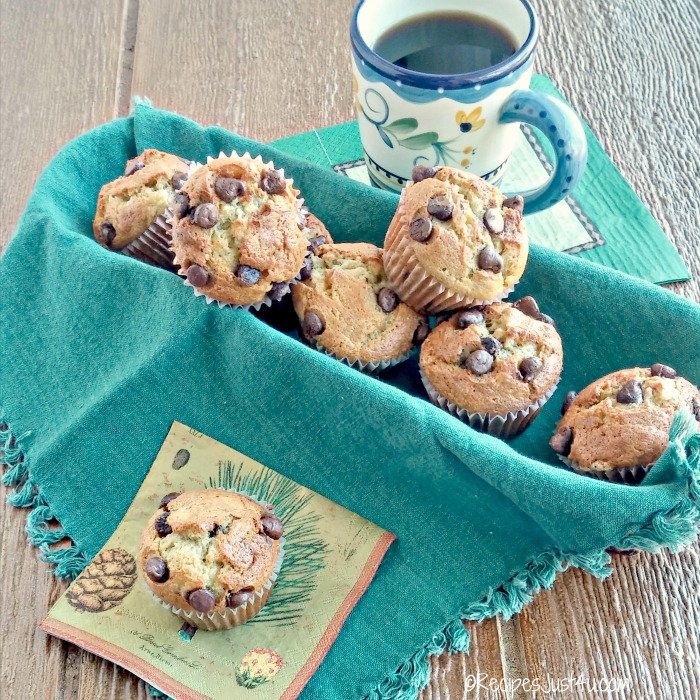 Grab a cup of coffee for these delicious muffins