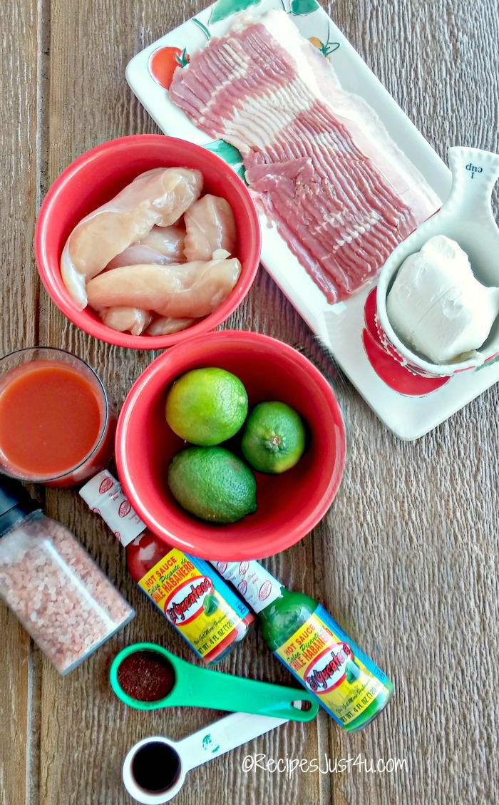 ingredients for my game day heat recipes