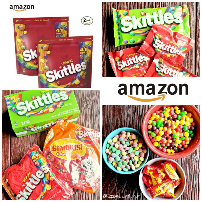Skittles candies are available on Amazon.com