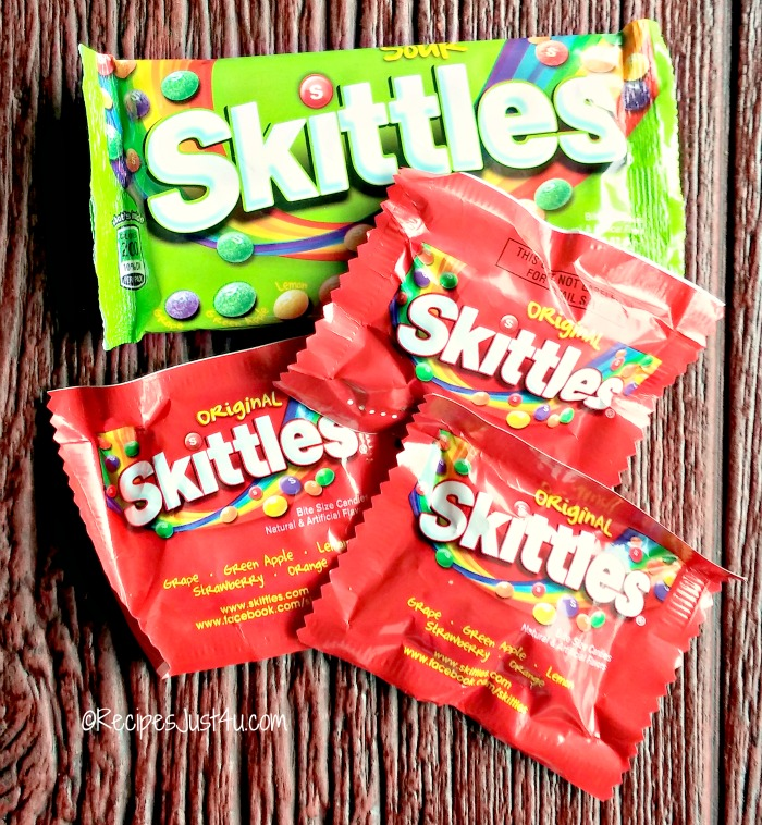 Skittles sweet and sour candy
