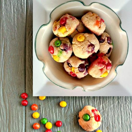 Skittles sugar cookies