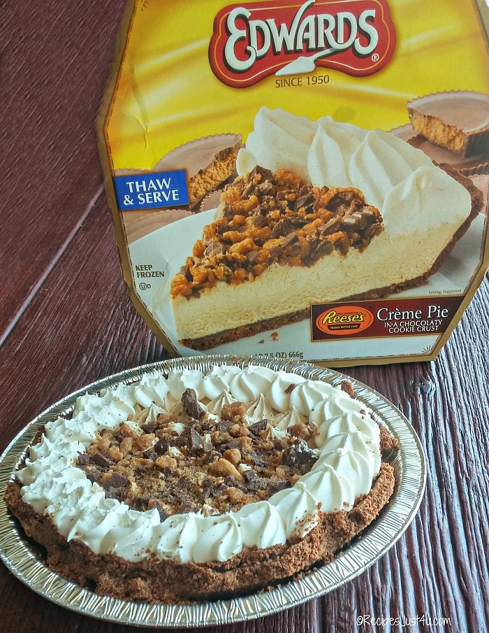 Edward's Reeses Peanut Butter Pie