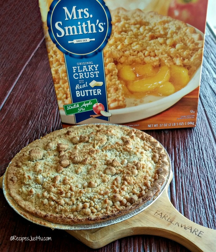 Mrs. Smith dutch apple pie
